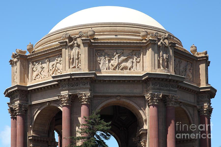 San francisco palace of fine arts - 5d18059 photograph