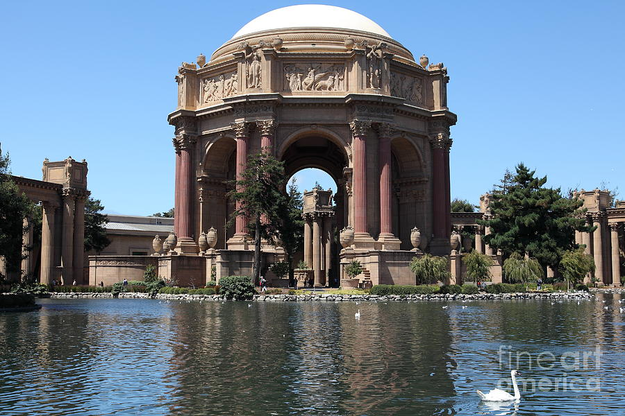 San Francisco Palace Of Fine Arts - 5d18081 Photograph  - San Francisco Palace Of Fine Arts - 5d18081 Fine Art Print