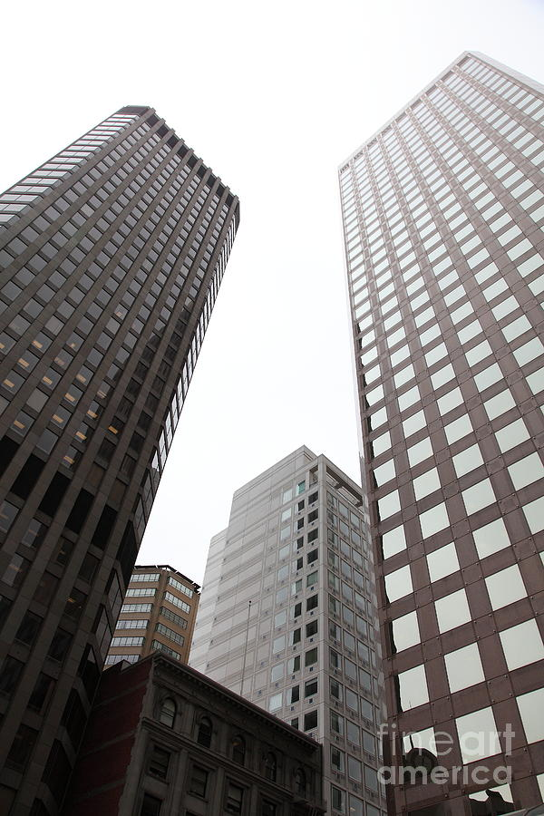 San Francisco Tall Buildings In The Financial District - 5d17897 Photograph