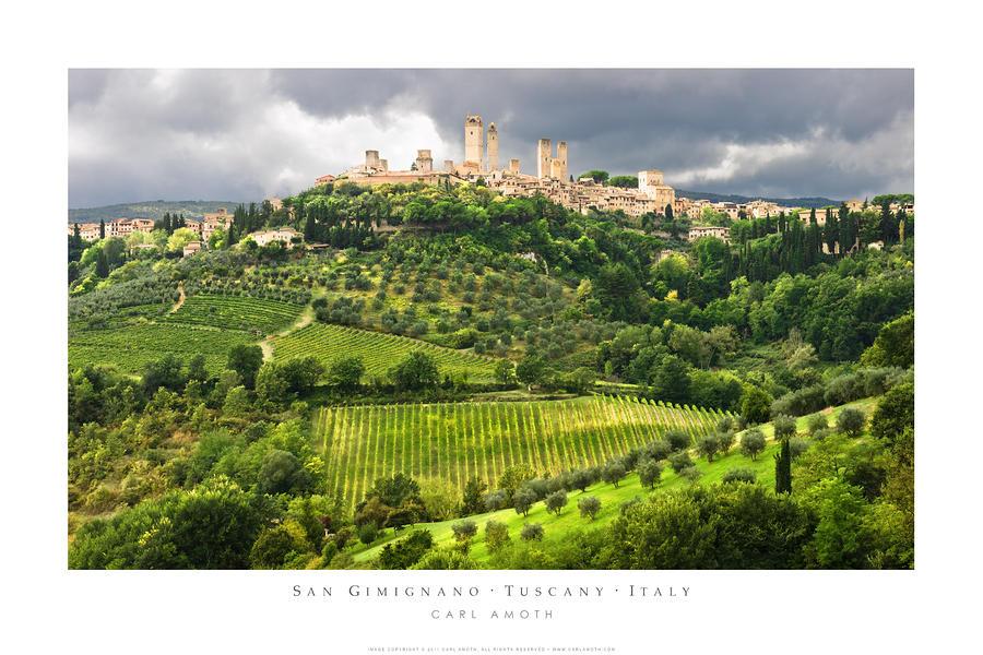San Gimignano Tuscany Italy Photograph