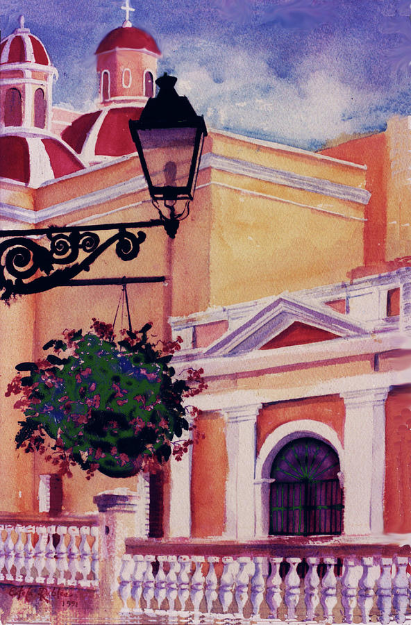 San Juan Cathedral Painting