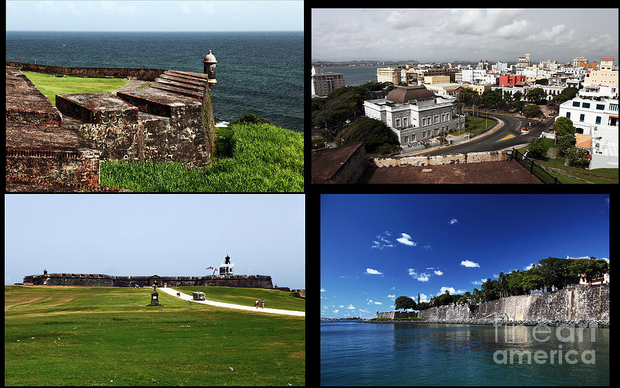 San Juan Collage Photograph