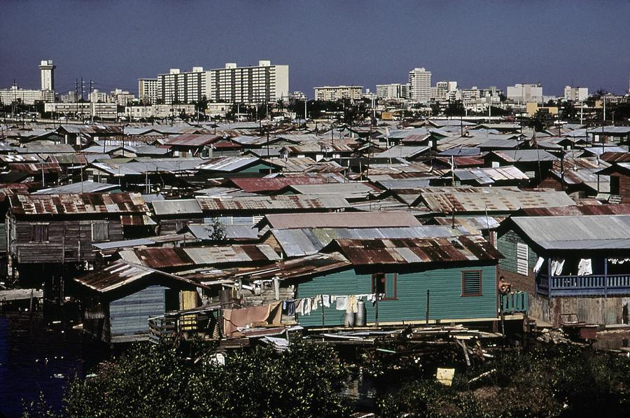 San Juan Puerto Rico. Modern Buildings Photograph