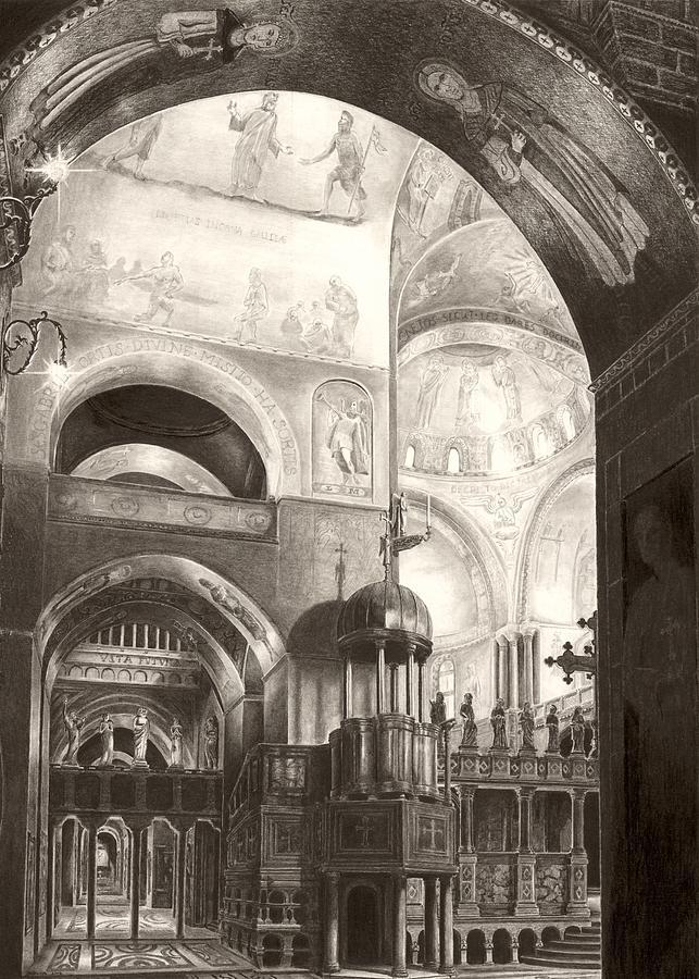 San Marco Drawing