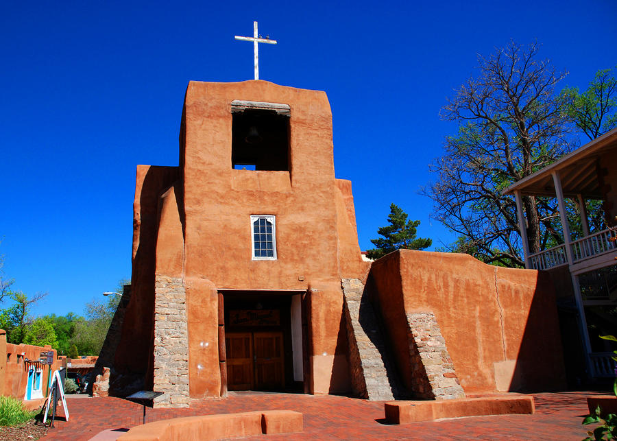 New Mexico Catholic Pilgrimage San Miguel Mission Santa Fe