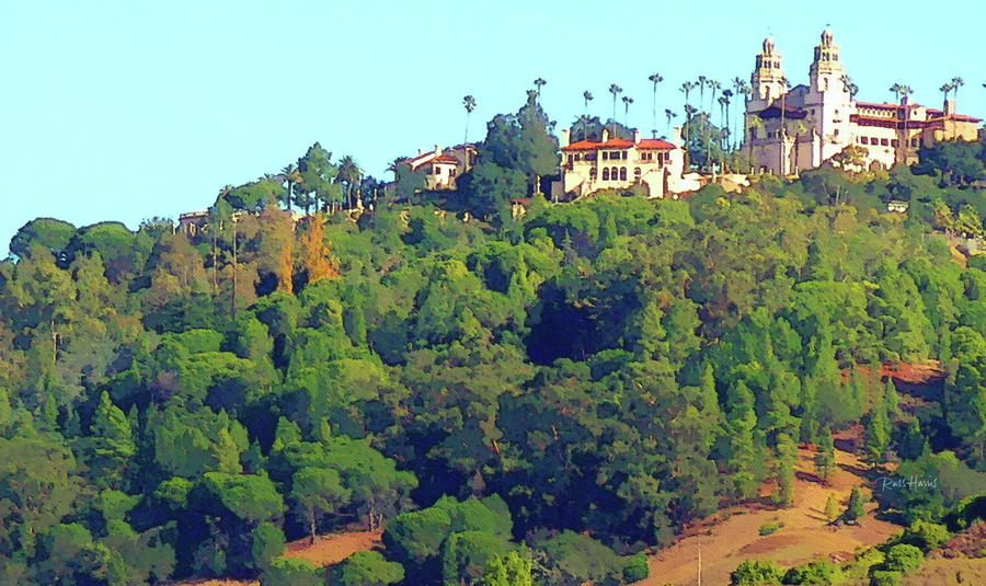 San Simeon Hearst Castle By Russ Harris