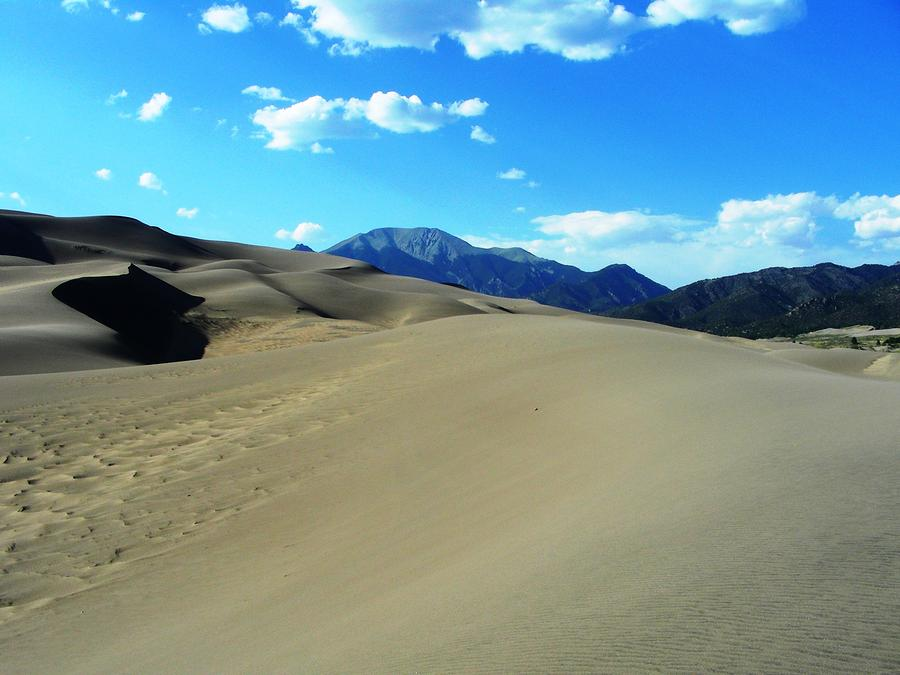 Sand And Mountains Photograph  - Sand And Mountains Fine Art Print
