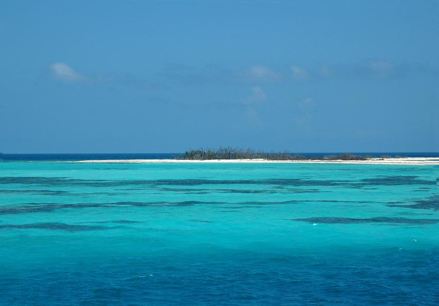 Sand Bar Island Photograph