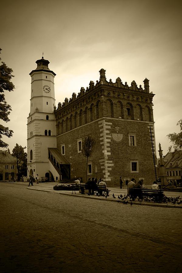 Sandomierz Photograph - Sandomierz Sepia by Kamil Swiatek