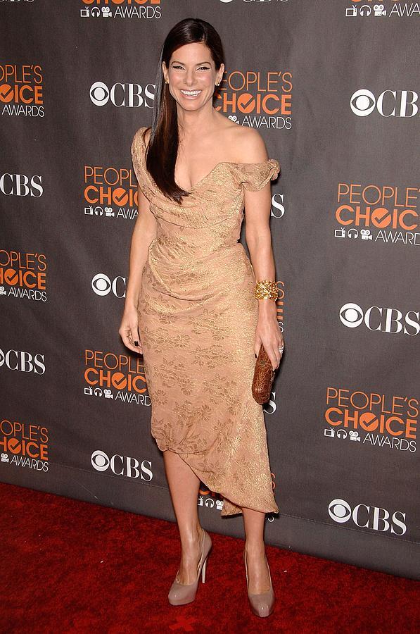 Sandra Bullock Wearing A Vivienne Photograph