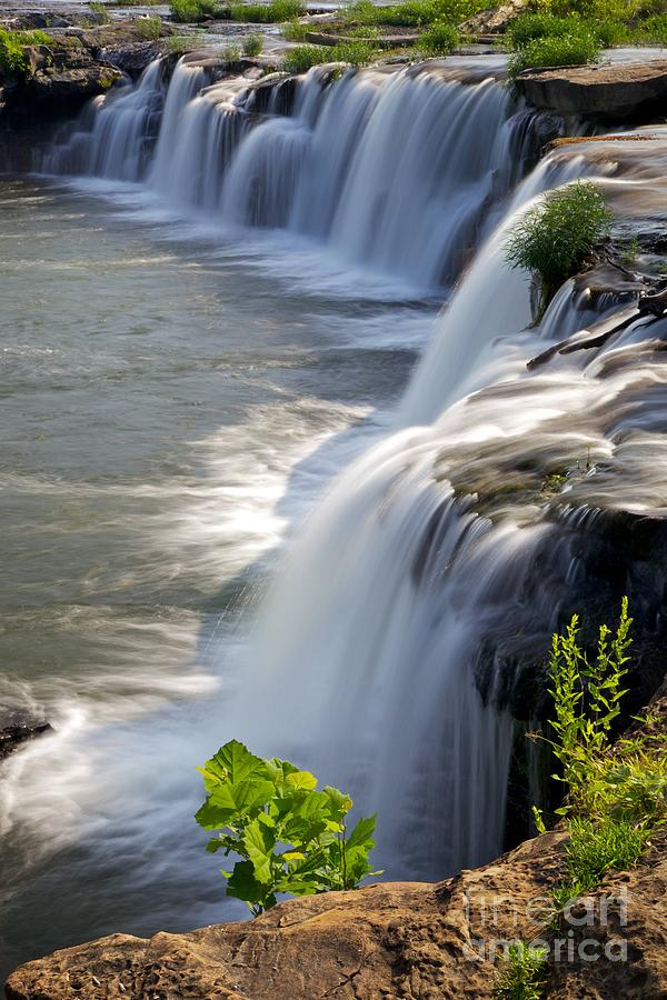 Sandstone Photograph - Sandstone Falls Wv by Sean Cupp