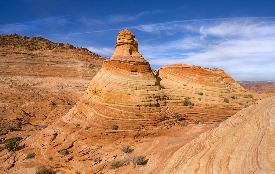 Sandstone Tent Rock Photograph