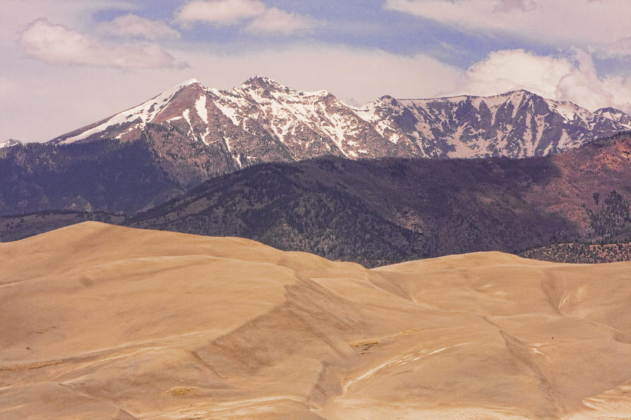 Sangre De Cristo Mountains And The Great Sand Dunes Photograph  - Sangre De Cristo Mountains And The Great Sand Dunes Fine Art Print
