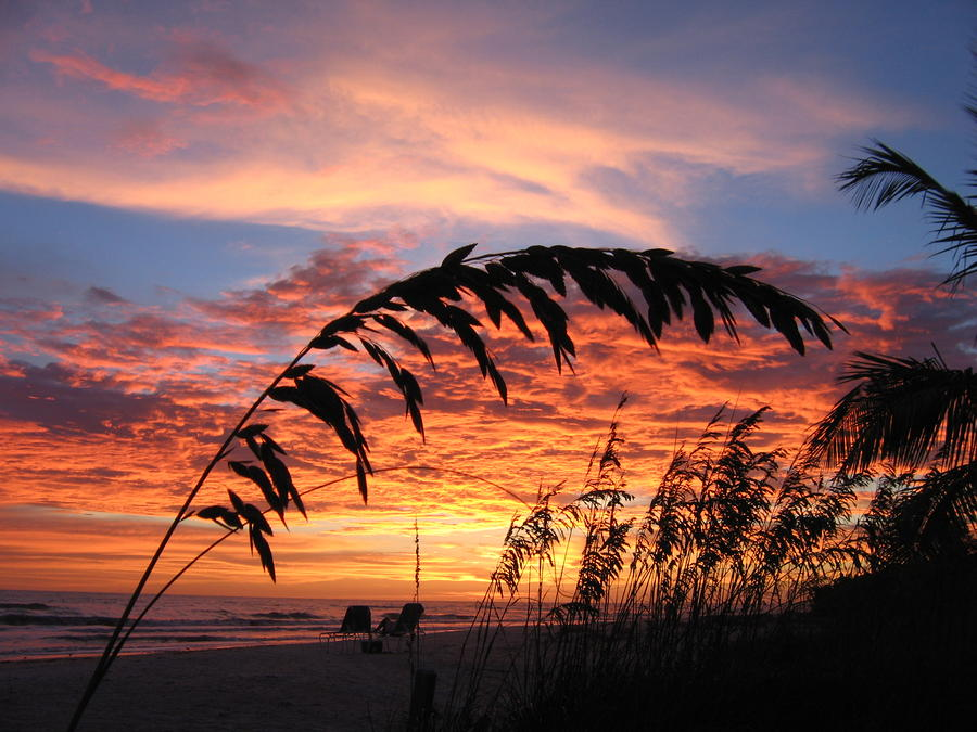 Sanibel Island Sunset Photograph