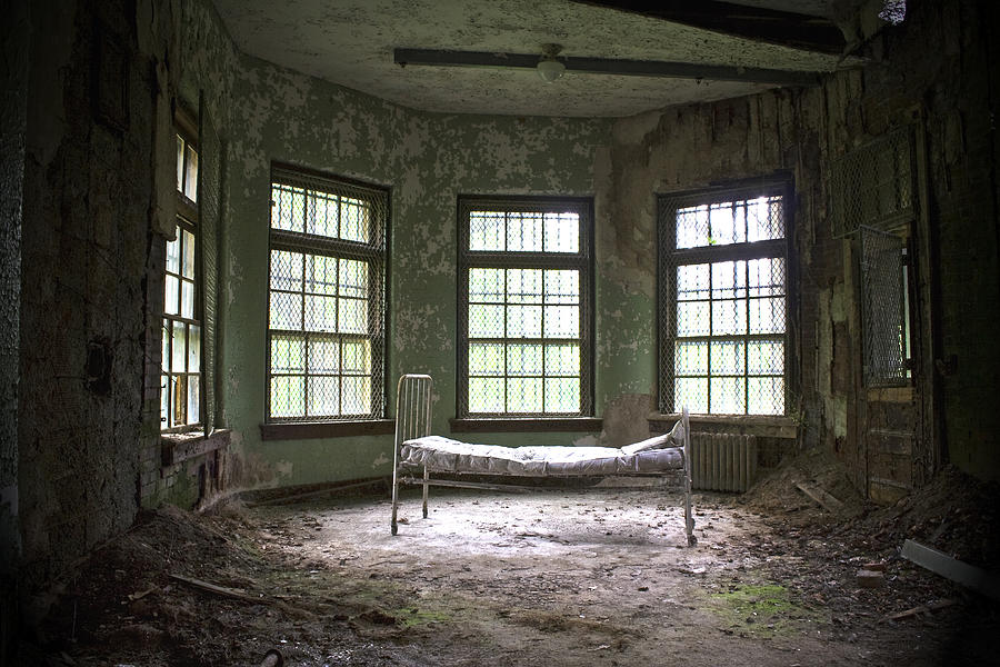 Sanitorium Photograph  - Sanitorium Fine Art Print