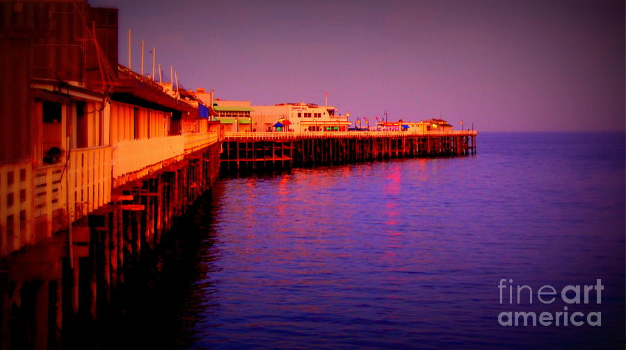 Santa Cruz Wharf Photograph