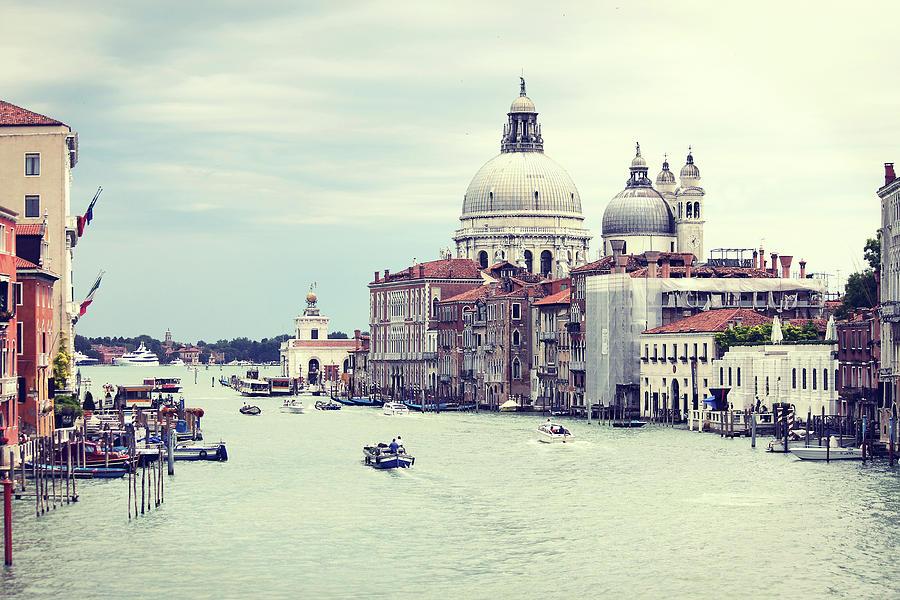 Santa Maria Della Salute In Venice Photograph