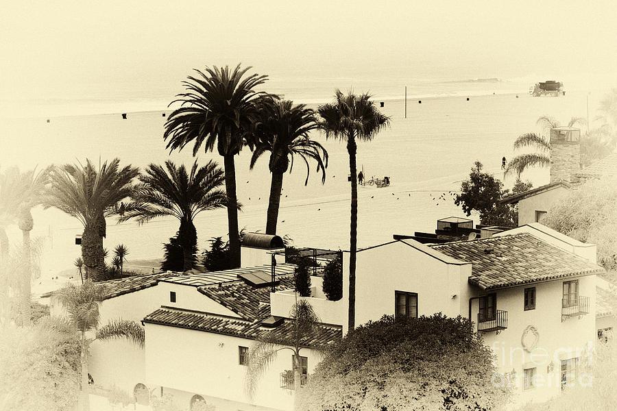 Santa Monica Beach House Photograph