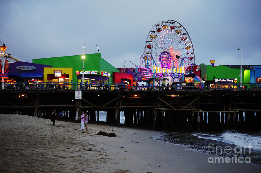 Santa Monica Pier May 12 2012 Photograph  - Santa Monica Pier May 12 2012 Fine Art Print