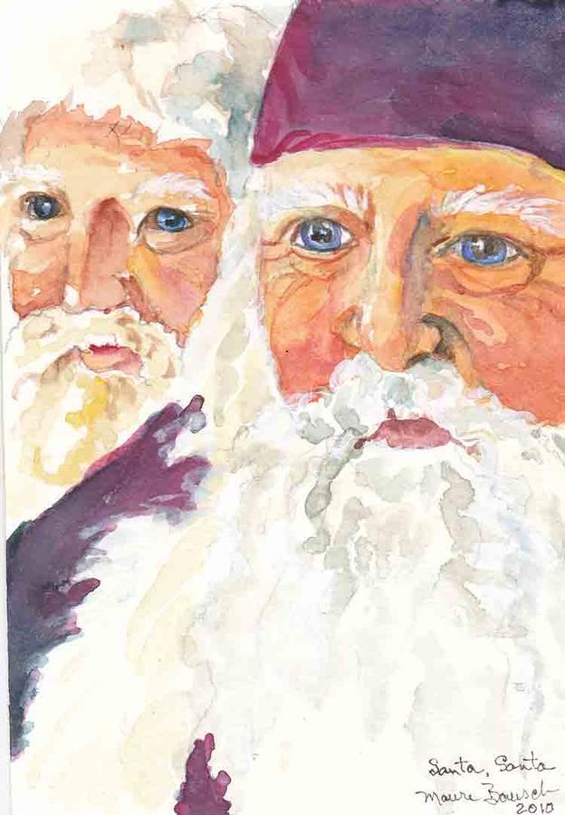 Santa Santa Painting