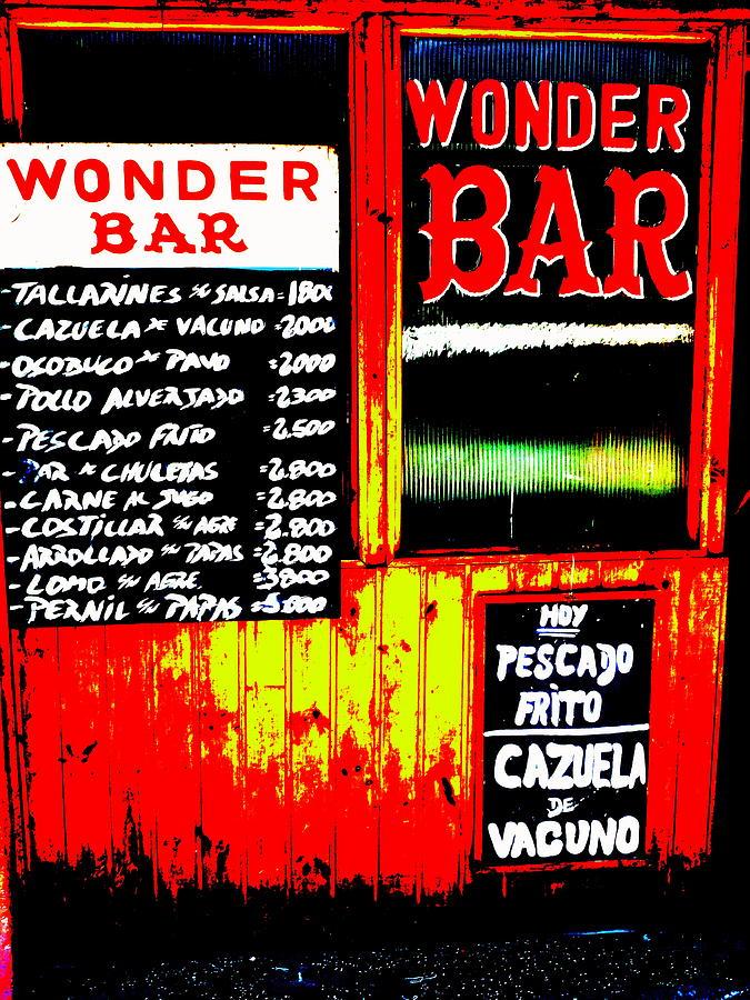 Santiagos Wonder Bar  Photograph