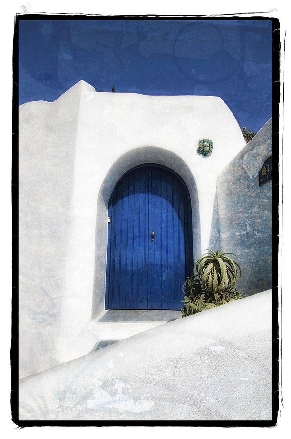 Art Pyrography - Santorini 1 by Mauro Celotti