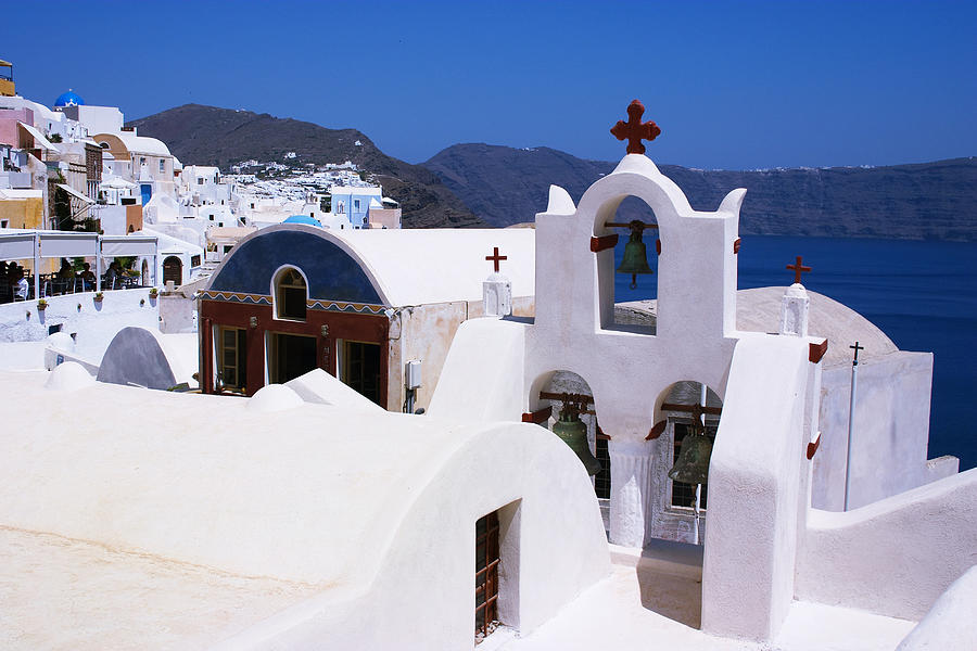 Santorini Architecture Photograph