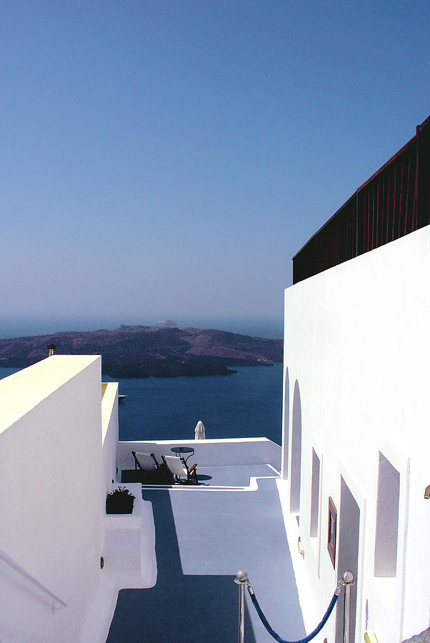 Santorini Blue Photograph