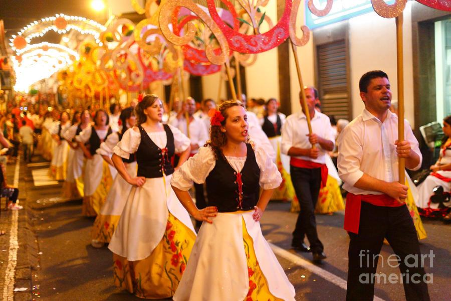 Sao Joao Da Vila Festival Photograph