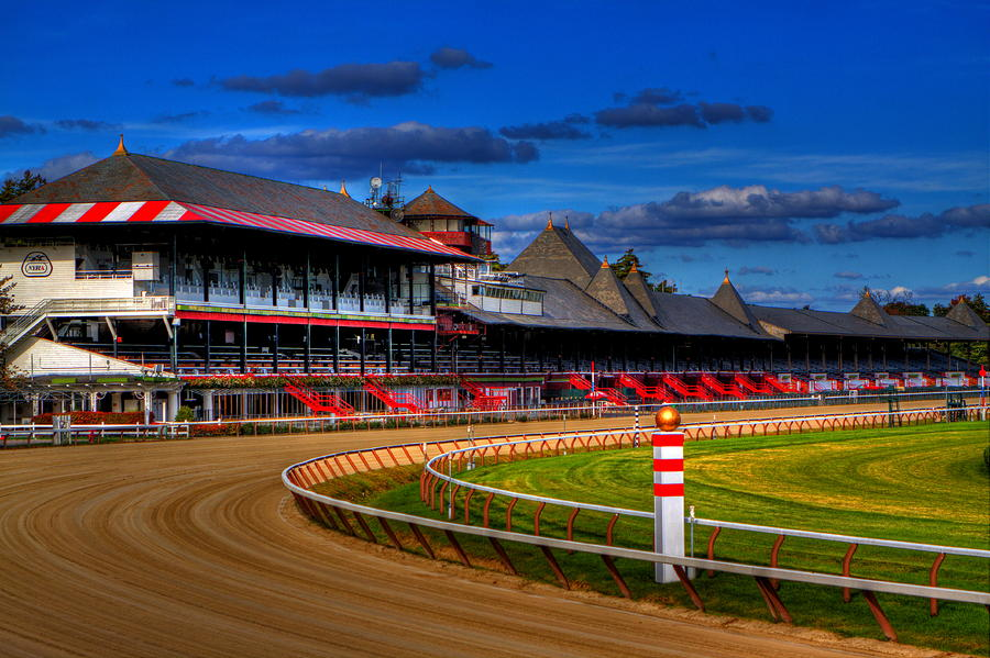 Saratoga Race Track Photograph  - Saratoga Race Track Fine Art Print