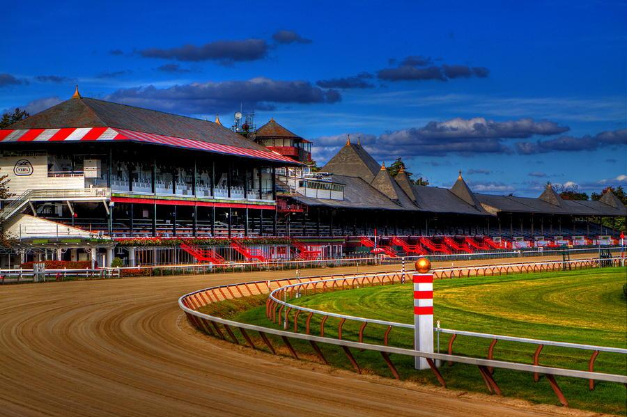 Saratoga Race Track Photograph