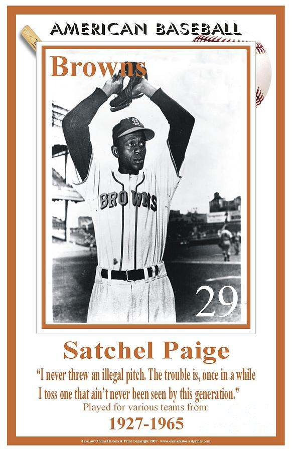 Satchel Paige Digital Art