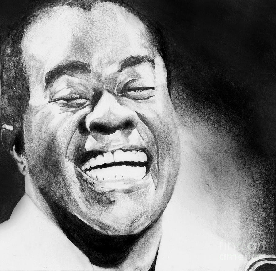 Satchmo Drawing