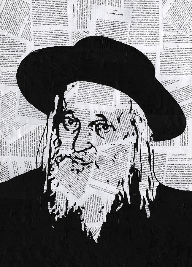 Rabbi Painting - Satmar Rebbe by Anshie Kagan