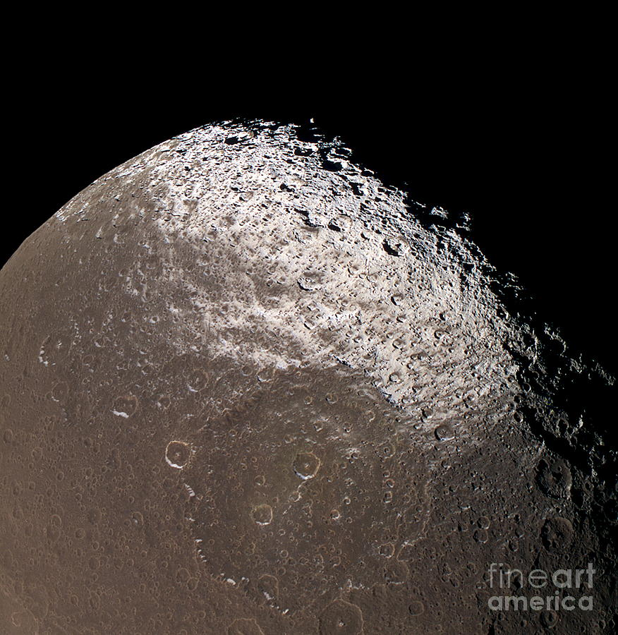 Saturns Moon Iapetus Photograph