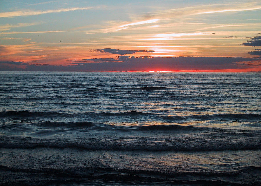 Sauble Beach Sunset Photograph