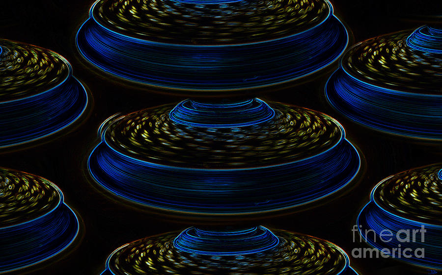 Saucers Painting