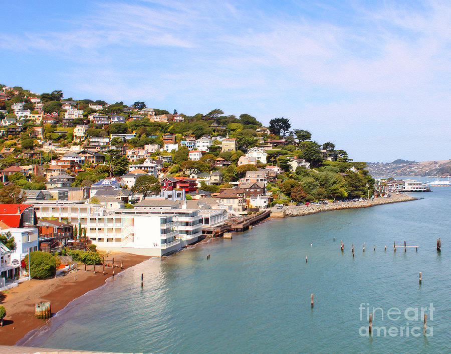Sausalito California Photograph  - Sausalito California Fine Art Print