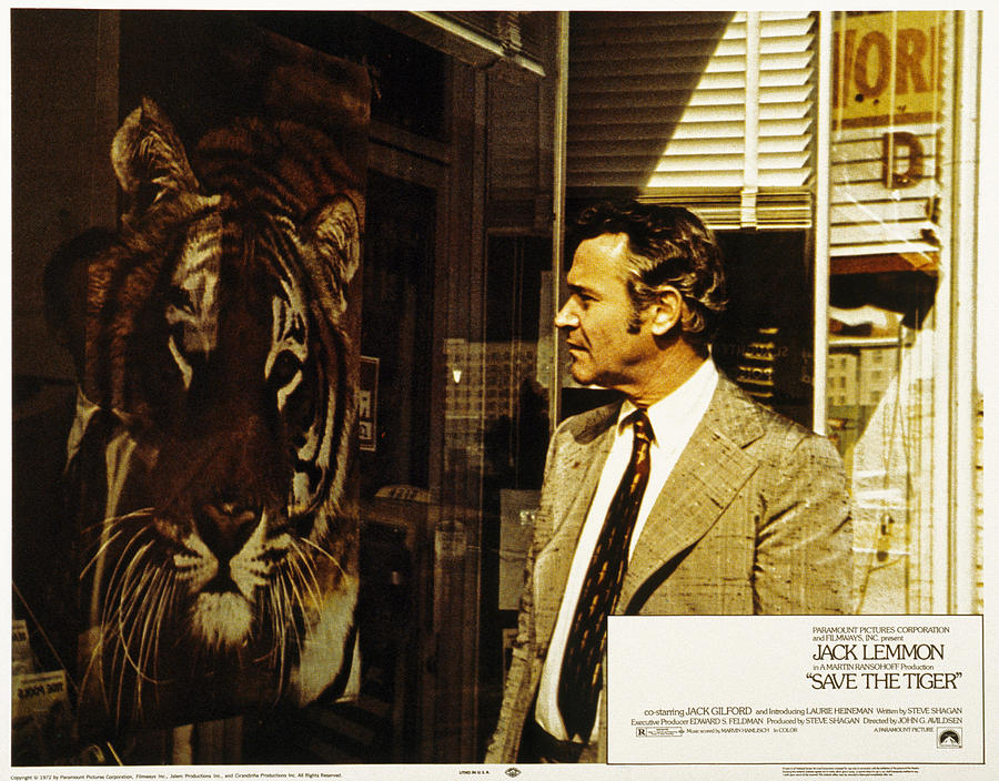 1970s Fashion Photograph - Save The Tiger, Jack Lemmon, 1973 by Everett