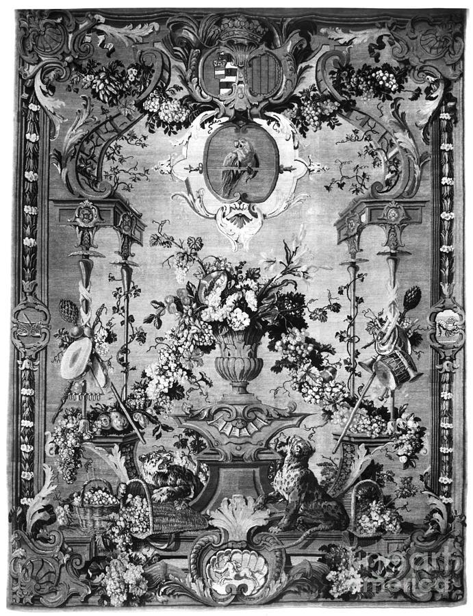 Savonnerie Panel C1800 Photograph