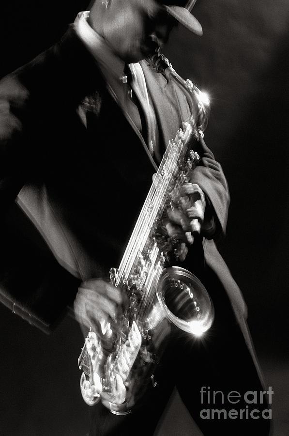 Sax Man 1 Photograph