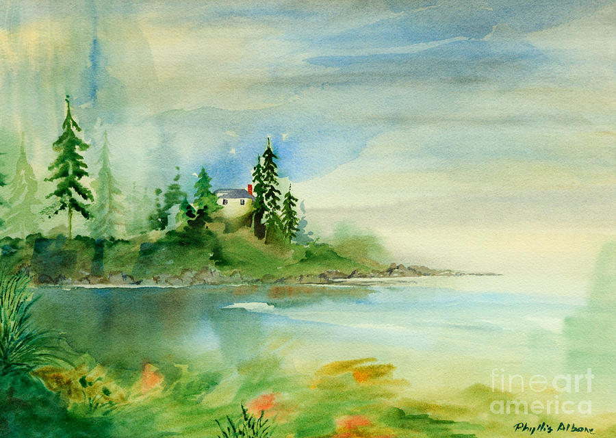 Saxe Point Painting  - Saxe Point Fine Art Print