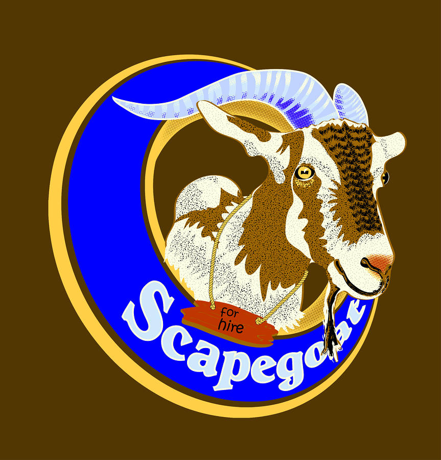 Scapegoat For Hire Digital Art