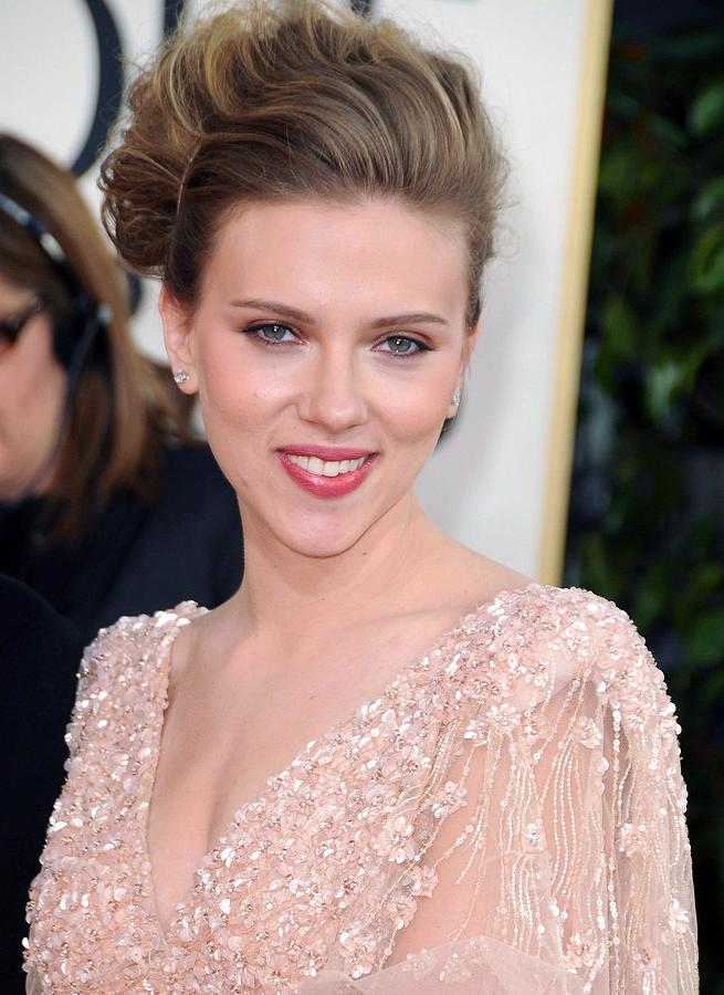 Scarlett Johansson At Arrivals For The Photograph  - Scarlett Johansson At Arrivals For The Fine Art Print