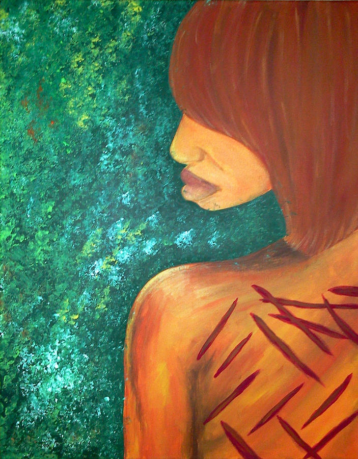 Scars Of My Past Painting