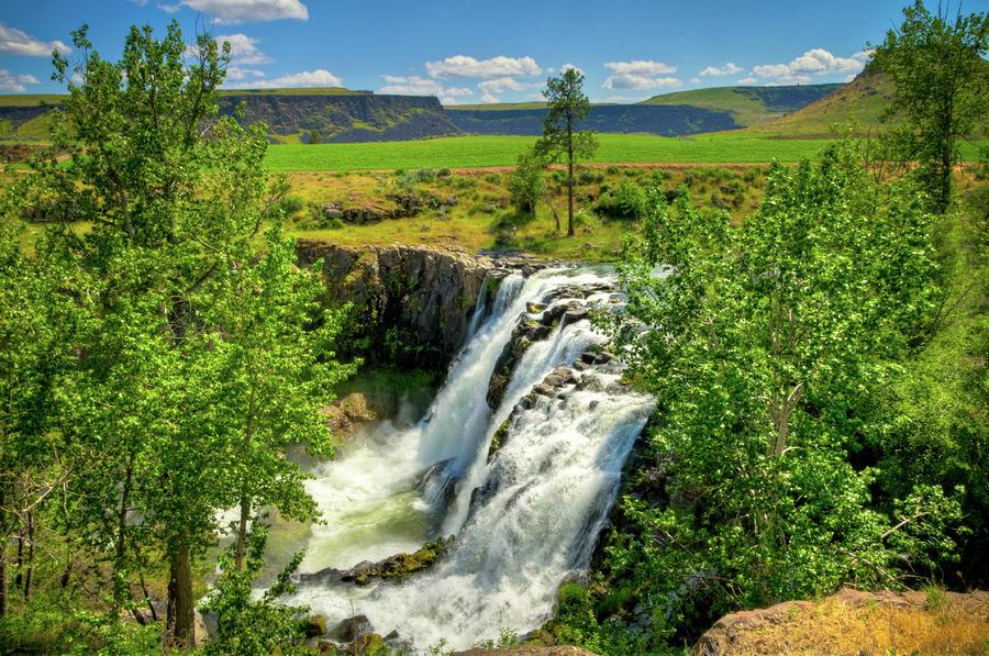 Scenic White River Falls Photograph