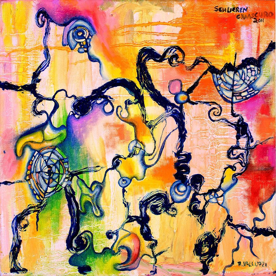 Schlieren Chiarascuro Painting