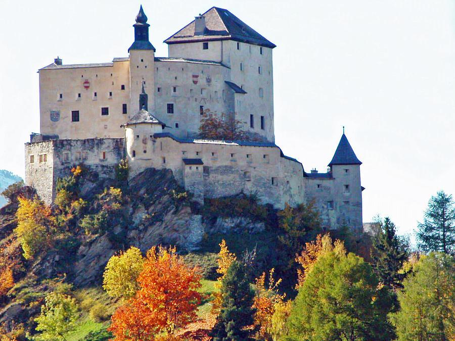 Schloss Tarasp Switzerland Photograph