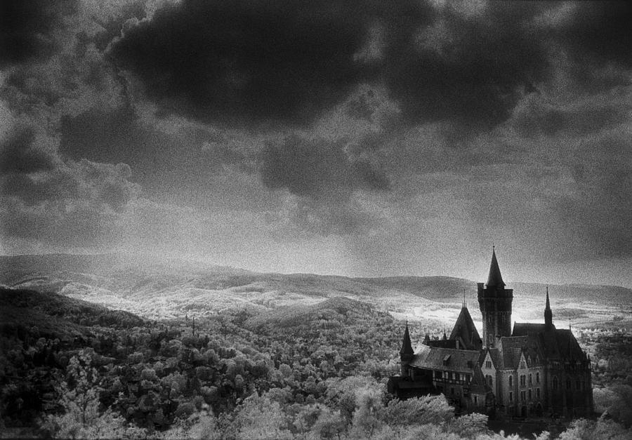 Halloween Photograph - Schloss Wernigerode by Simon Marsden