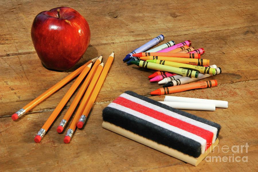 School Supplies  Photograph